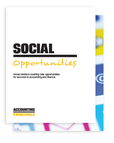 Accounting and finance professionals are getting social