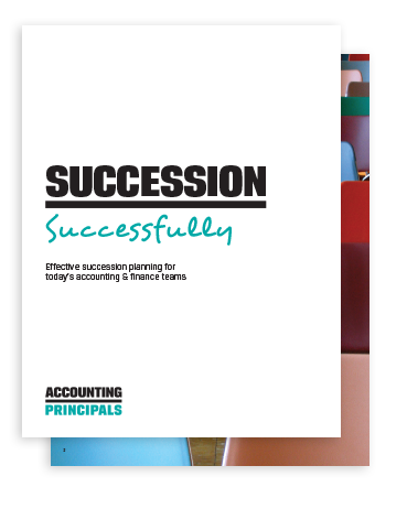 Cover of succession planning whitepaper with the title Succession Successfully