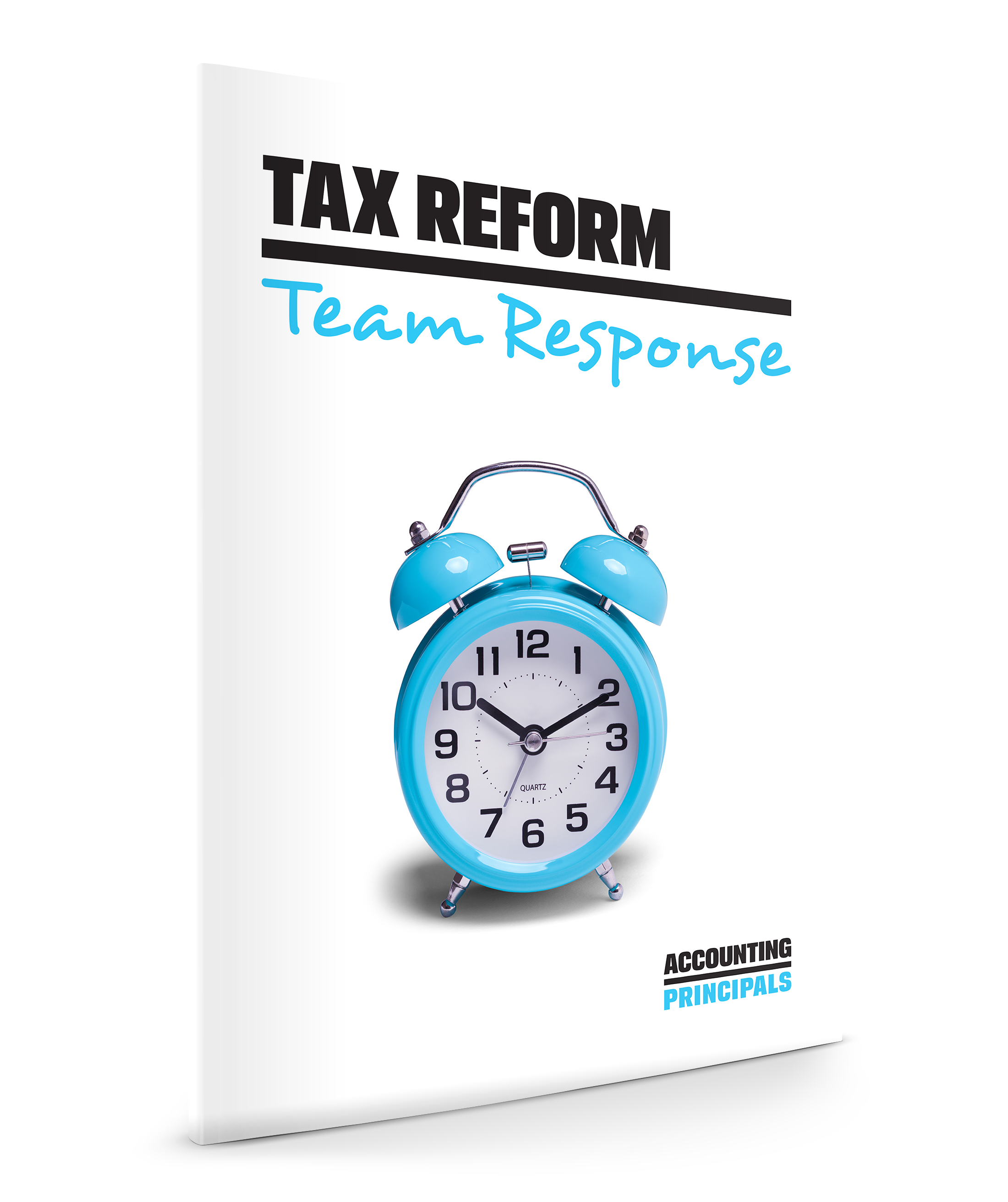 Cover of Tax Reform whitepaper