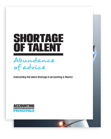Cover of overcoming shortage of talent whitepaper